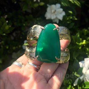 Kendra Scott Celeste Cuff in Emerald